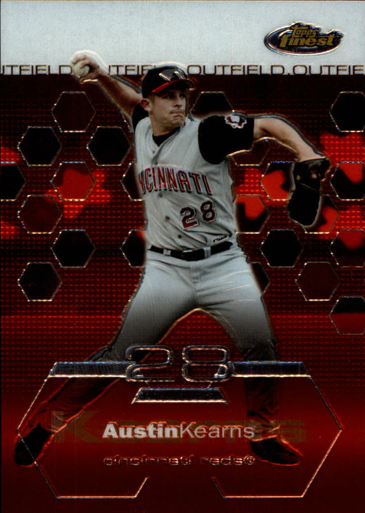 2003 Finest #28 Austin Kearns