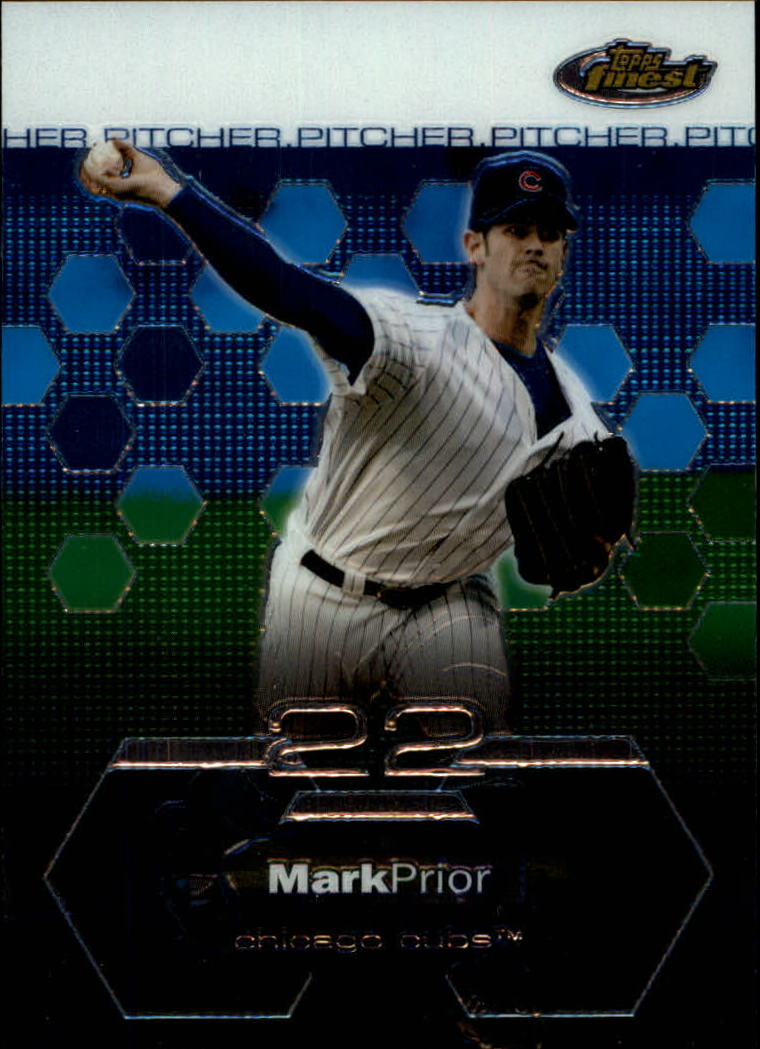 2003 Finest #41 Mark Prior