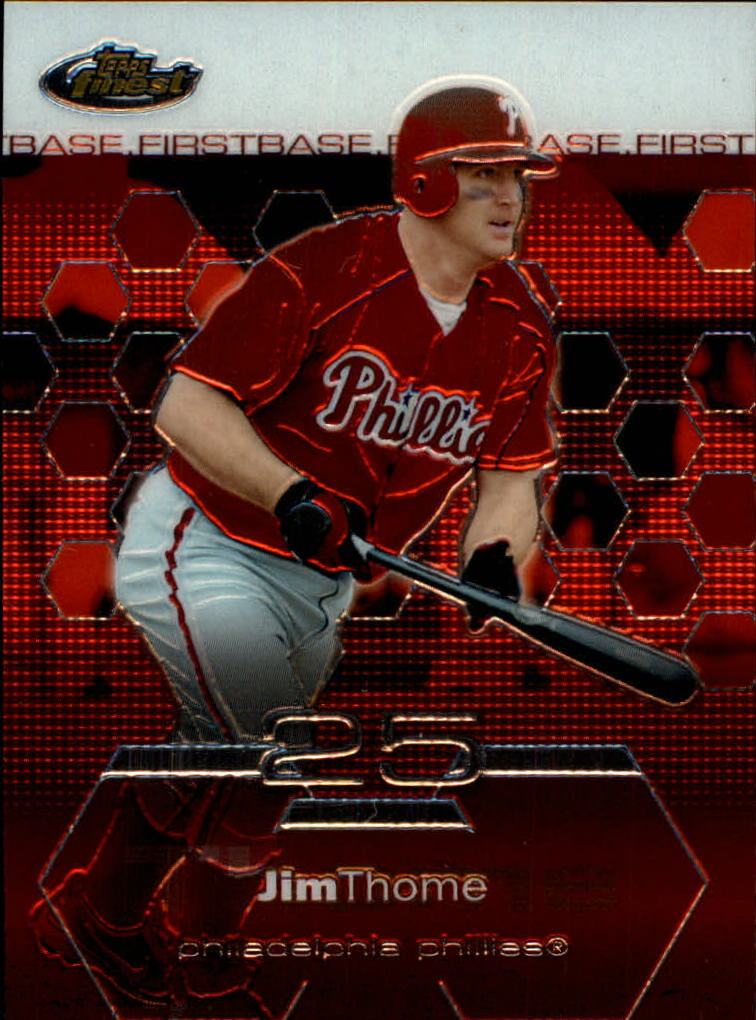 2003 Finest #45 Jim Thome