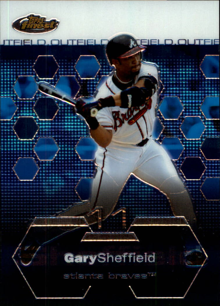 2003 Finest #49 Gary Sheffield