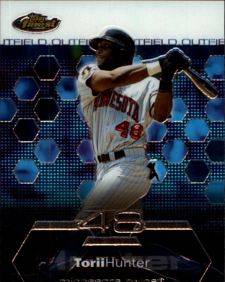 2003 Finest #52 Torii Hunter