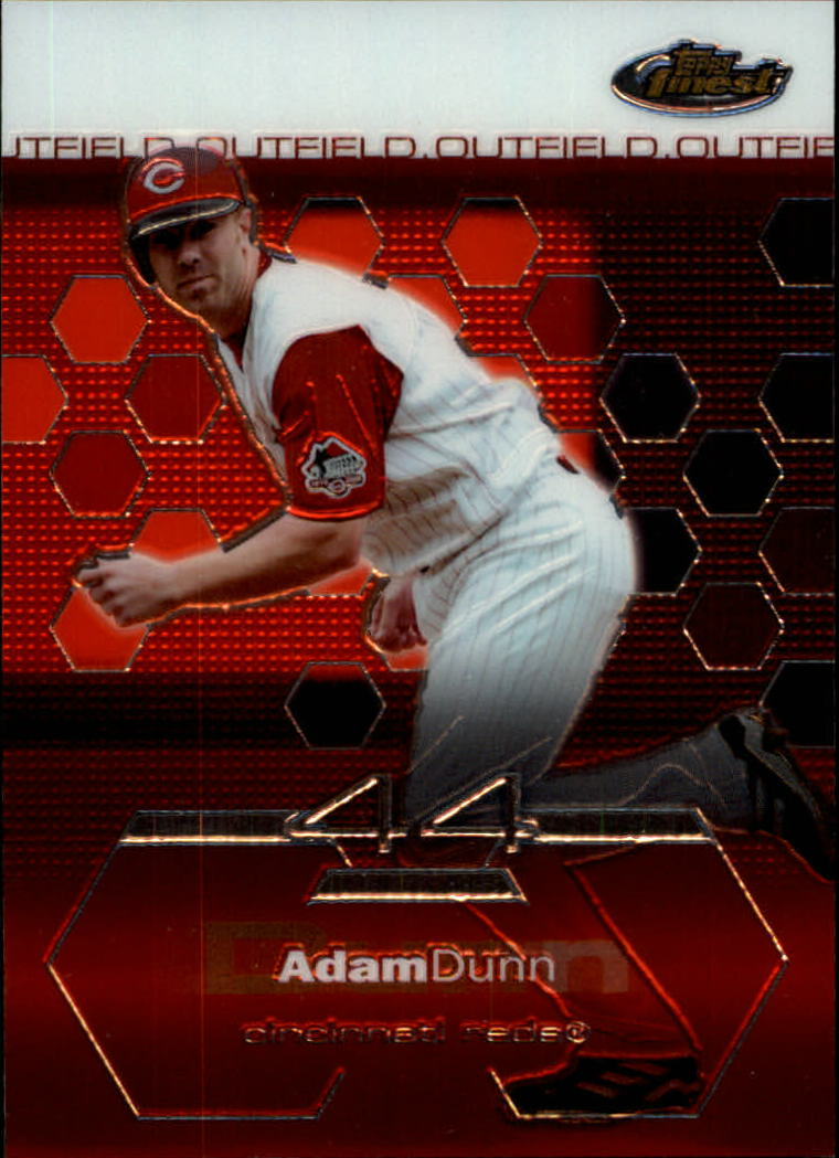2003 Finest #70 Adam Dunn