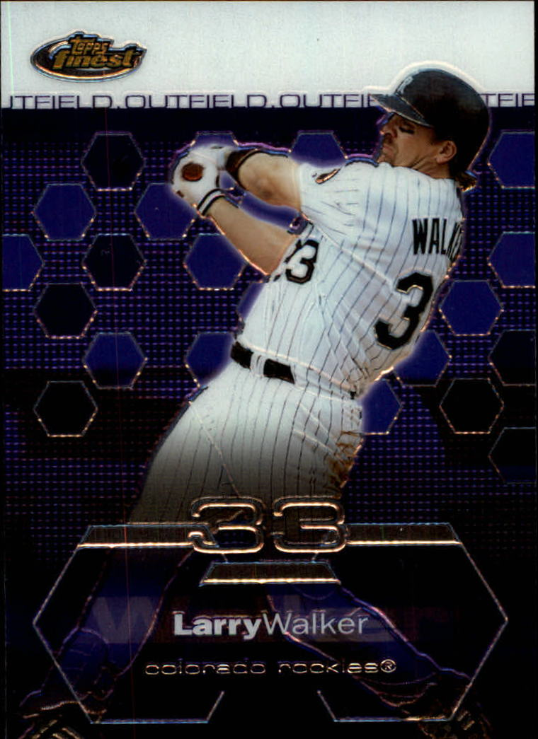 2003 Finest #80 Larry Walker