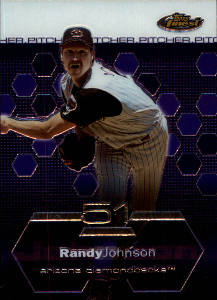 2003 Finest #81 Randy Johnson
