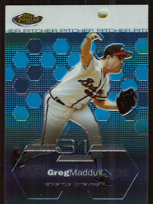 2003 Finest #82 Greg Maddux