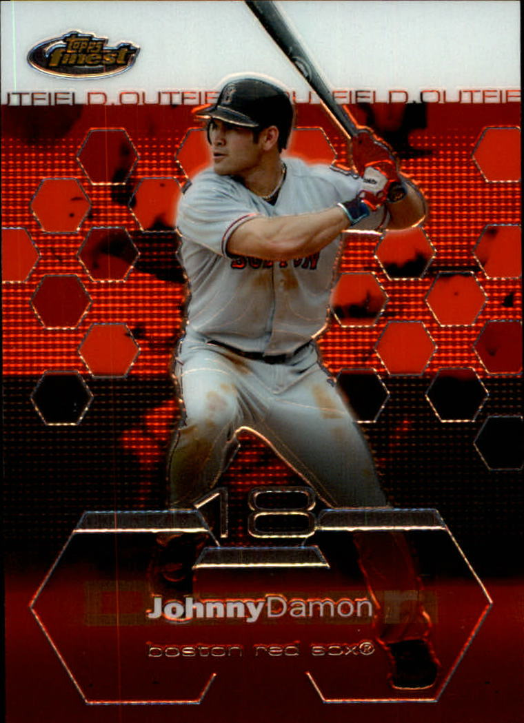 2003 Finest #83 Johnny Damon