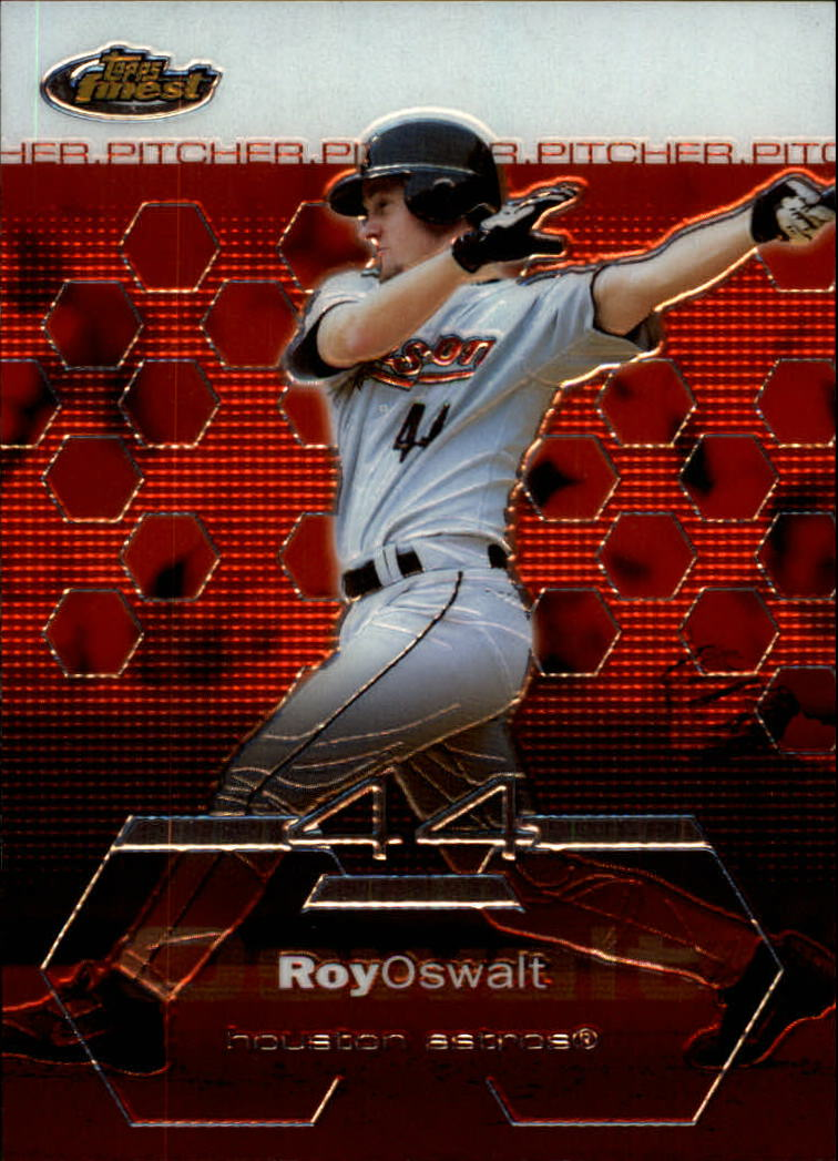 2003 Finest #87 Roy Oswalt