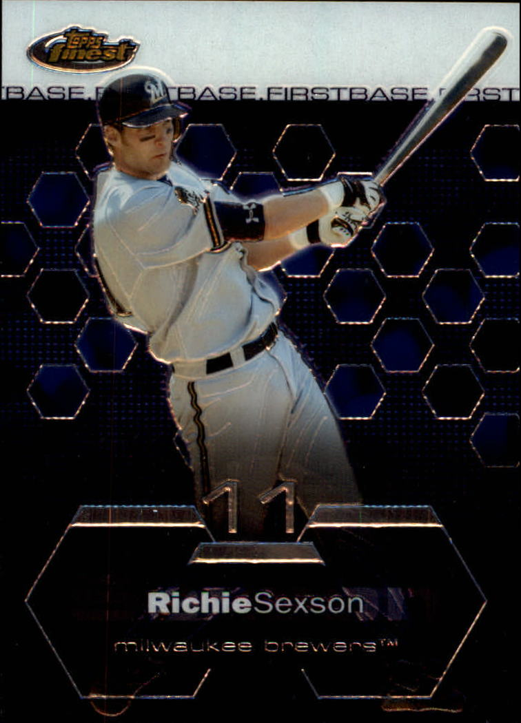 2003 Finest #88 Richie Sexson