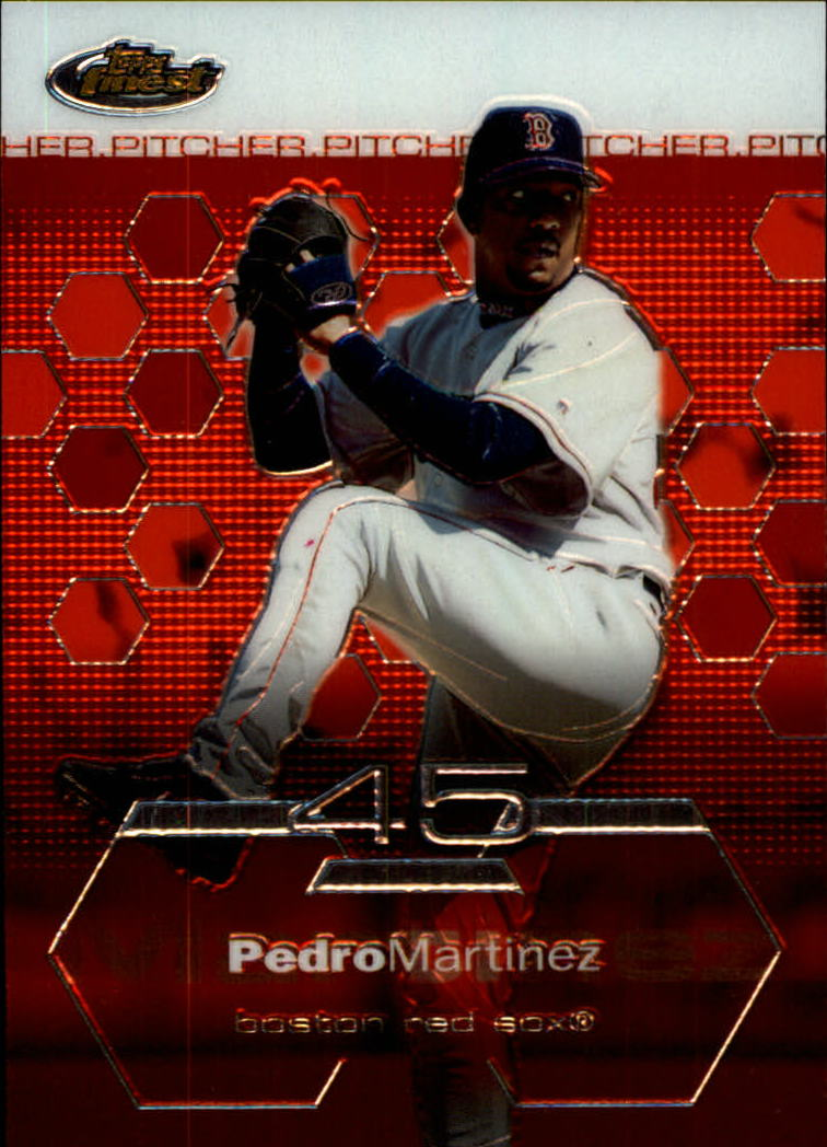 2003 Finest #99 Pedro Martinez