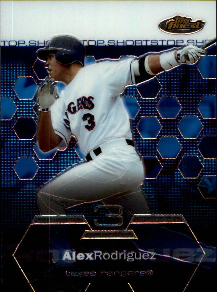 2003 Finest #100 Alex Rodriguez