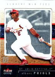 2003 Fleer Genuine #88 Albert Pujols