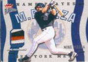 2003 Fleer Platinum Nameplates #MP Mike Piazza/200