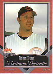 2003 Fleer Platinum Portraits #8 Adam Dunn