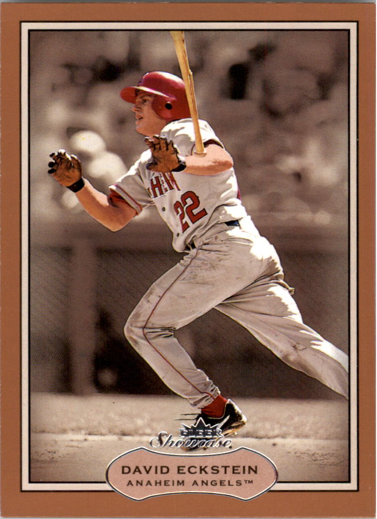 2003 Fleer Showcase #1 David Eckstein