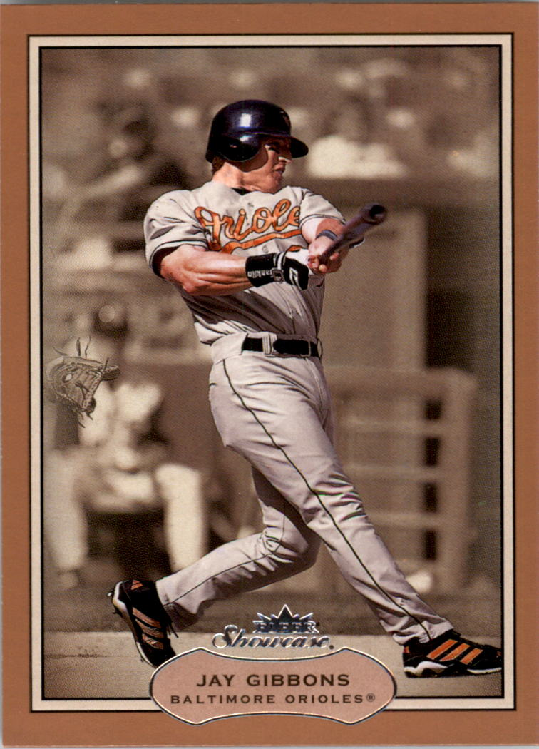 2003 Fleer Showcase #3 Jay Gibbons