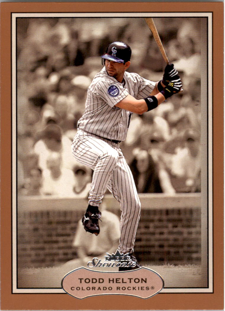 2003 Fleer Showcase #20 Todd Helton
