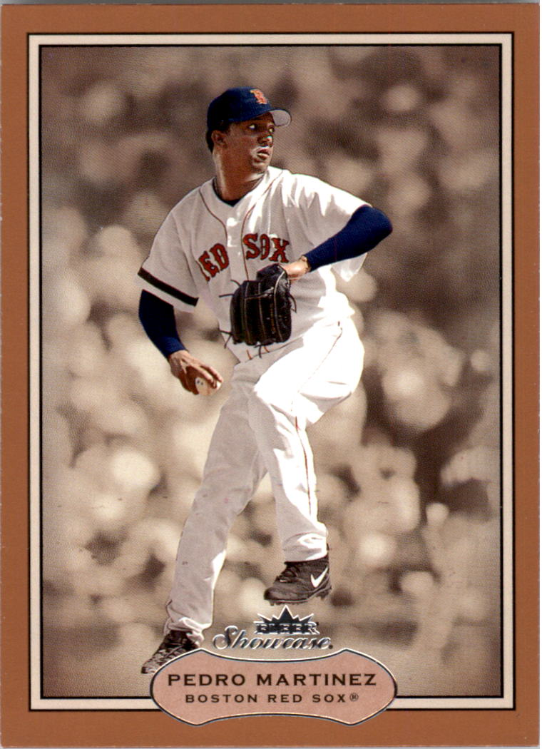 2003 Fleer Showcase #22 Pedro Martinez