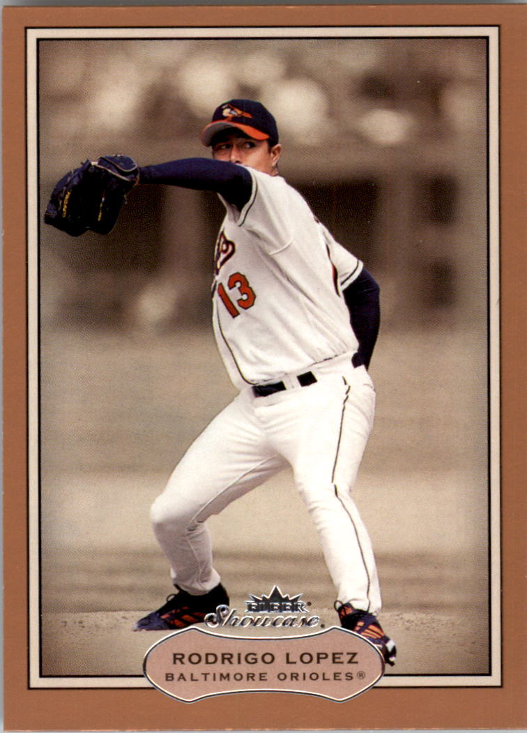 2003 Fleer Showcase #23 Rodrigo Lopez