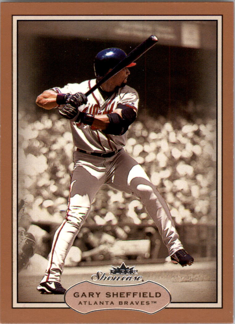 2003 Fleer Showcase #24 Gary Sheffield