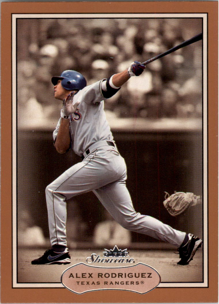 2003 Fleer Showcase #31 Alex Rodriguez