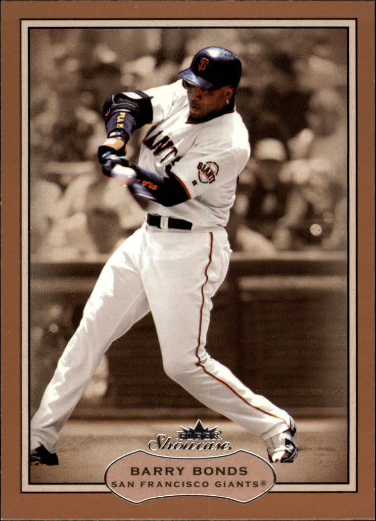 2003 Fleer Showcase #32 Barry Bonds