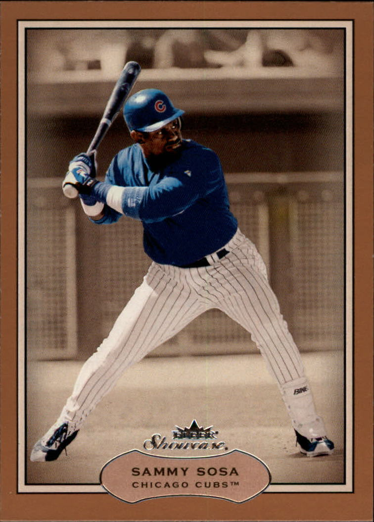 2003 Fleer Showcase #34 Sammy Sosa