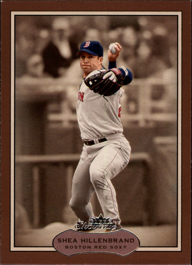 2003 Fleer Showcase #37 Shea Hillenbrand