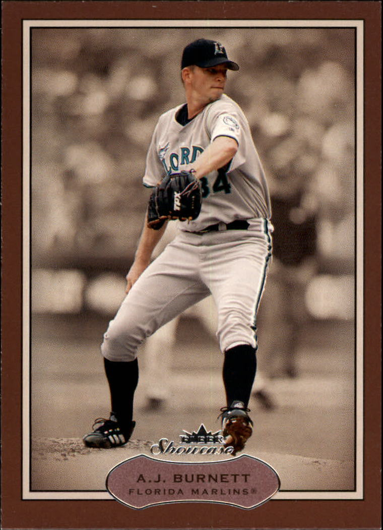2003 Fleer Showcase #39 A.J. Burnett