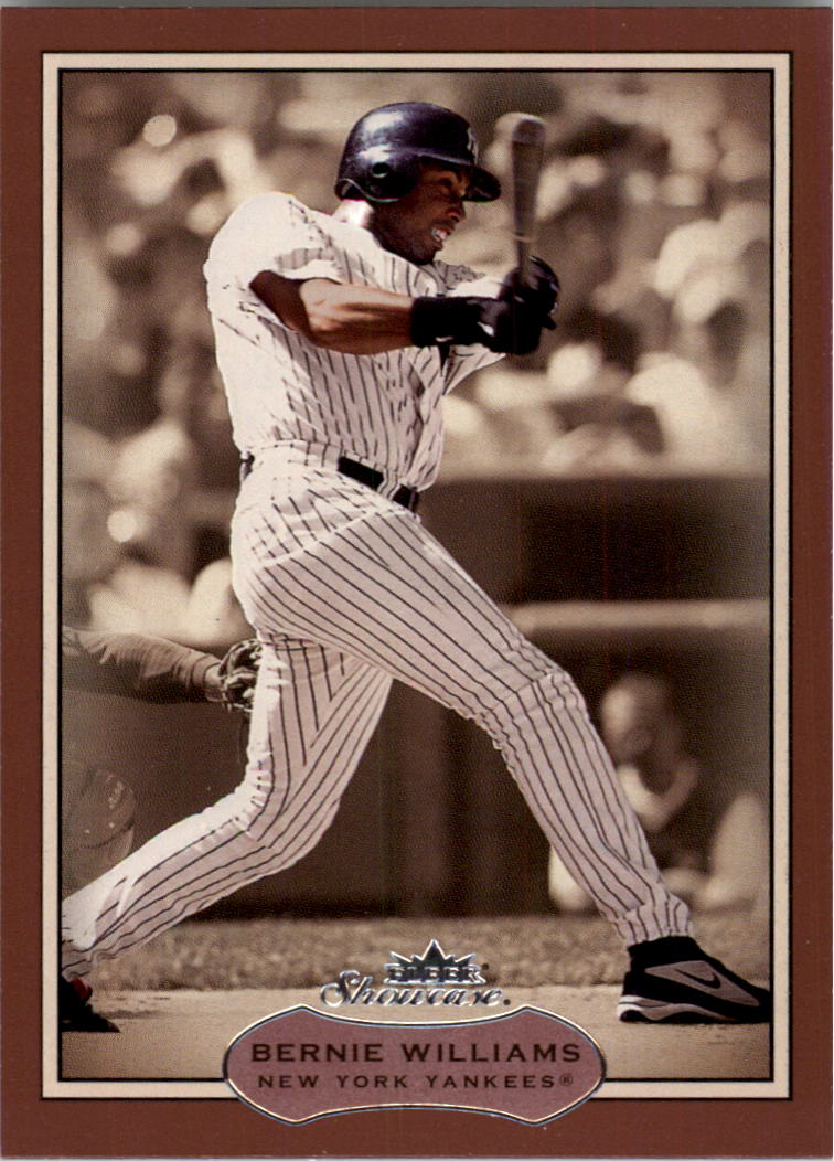 2003 Fleer Showcase #42 Bernie Williams