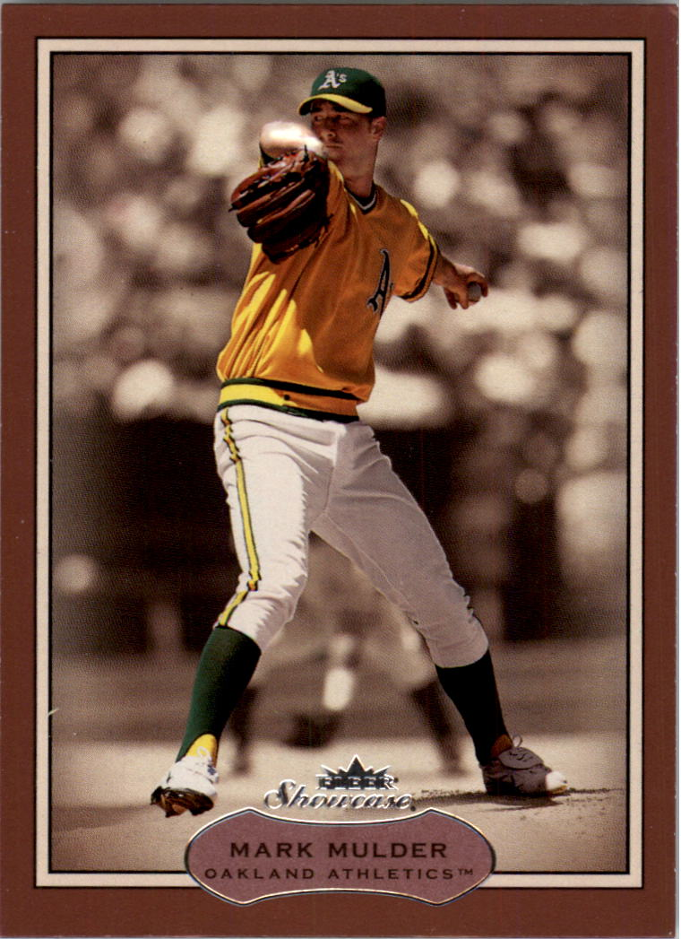 2003 Fleer Showcase #43 Mark Mulder