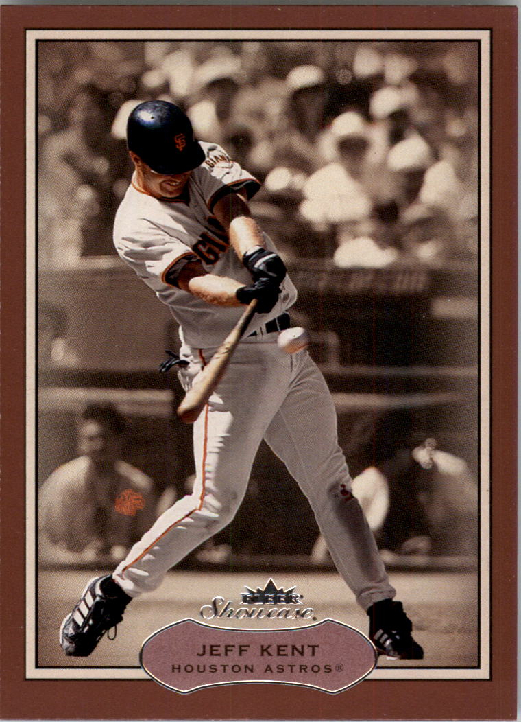 2003 Fleer Showcase #49 Jeff Kent