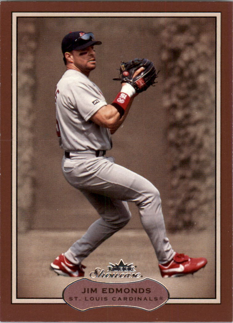 2003 Fleer Showcase #52 Jim Edmonds