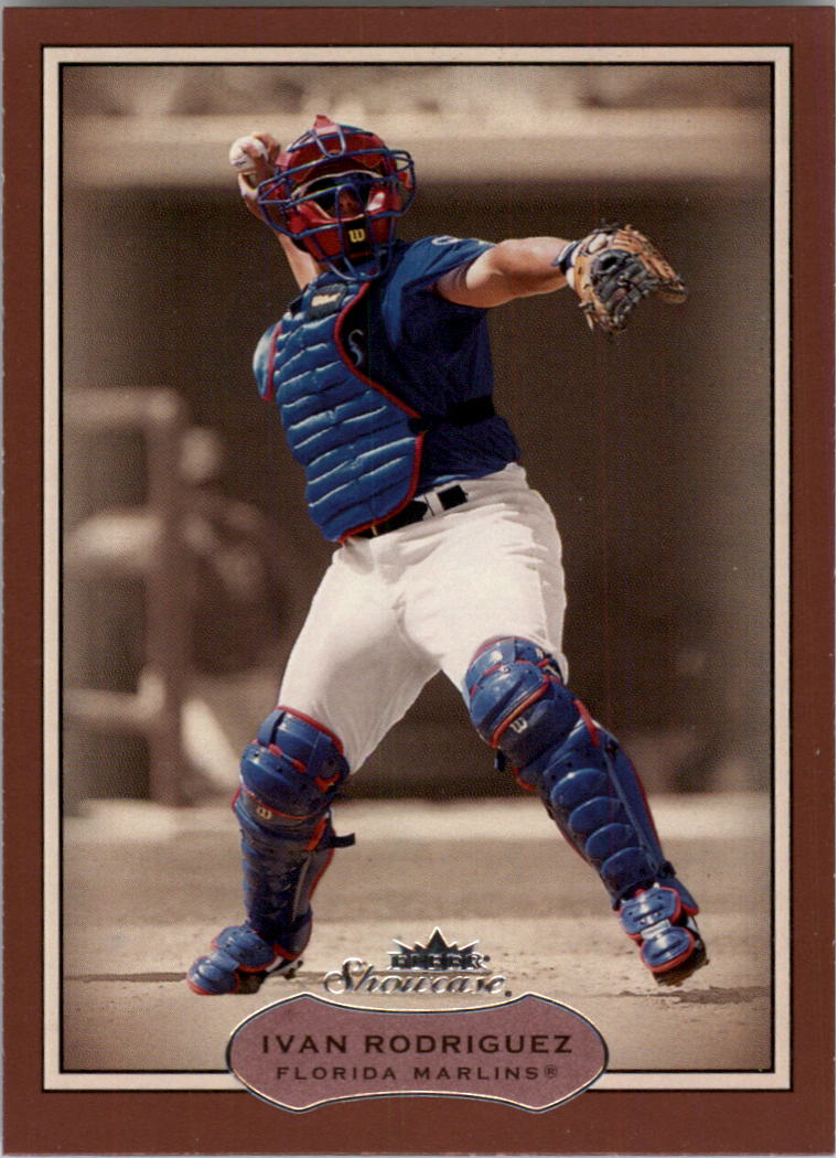 2003 Fleer Showcase #53 Ivan Rodriguez