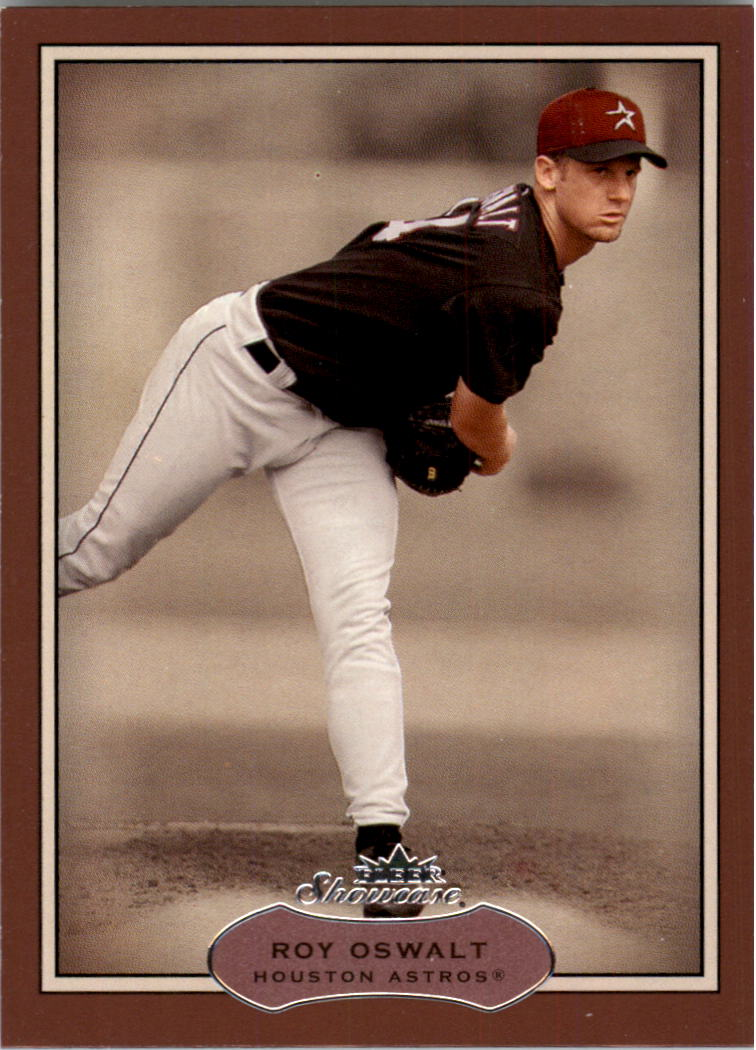 2003 Fleer Showcase #57 Roy Oswalt