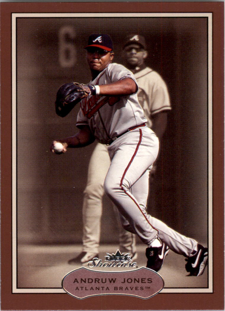 2003 Fleer Showcase #60 Andruw Jones