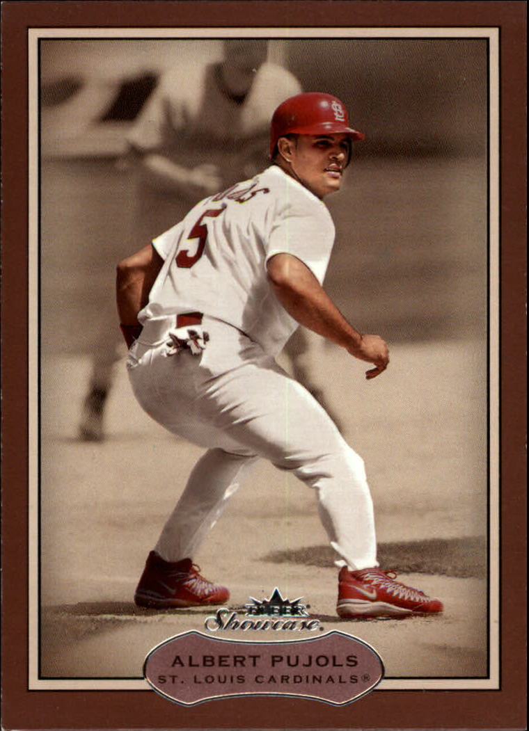 2003 Fleer Showcase #63 Albert Pujols