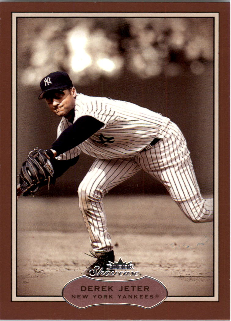 2003 Fleer Showcase #64 Derek Jeter