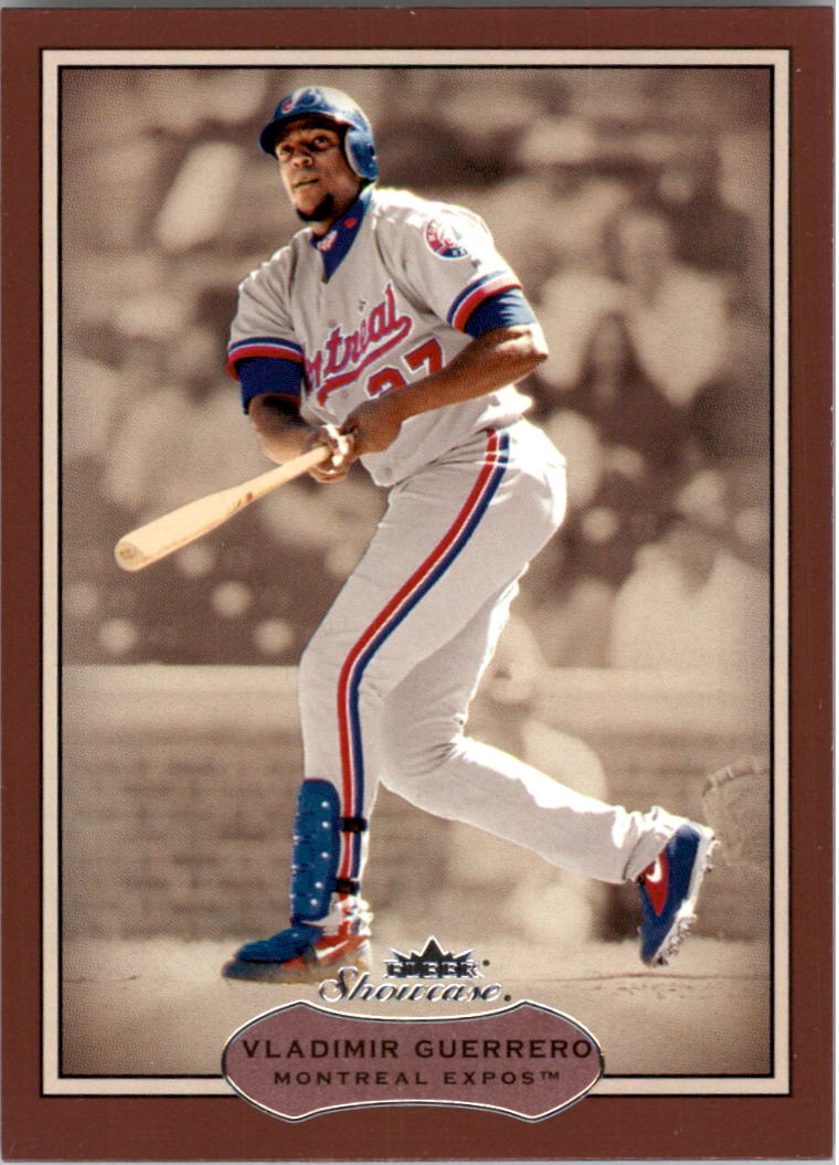 2003 Fleer Showcase #67 Vladimir Guerrero