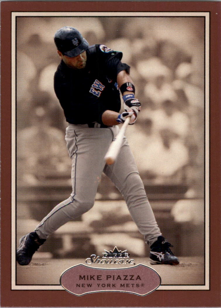 2003 Fleer Showcase #68 Mike Piazza