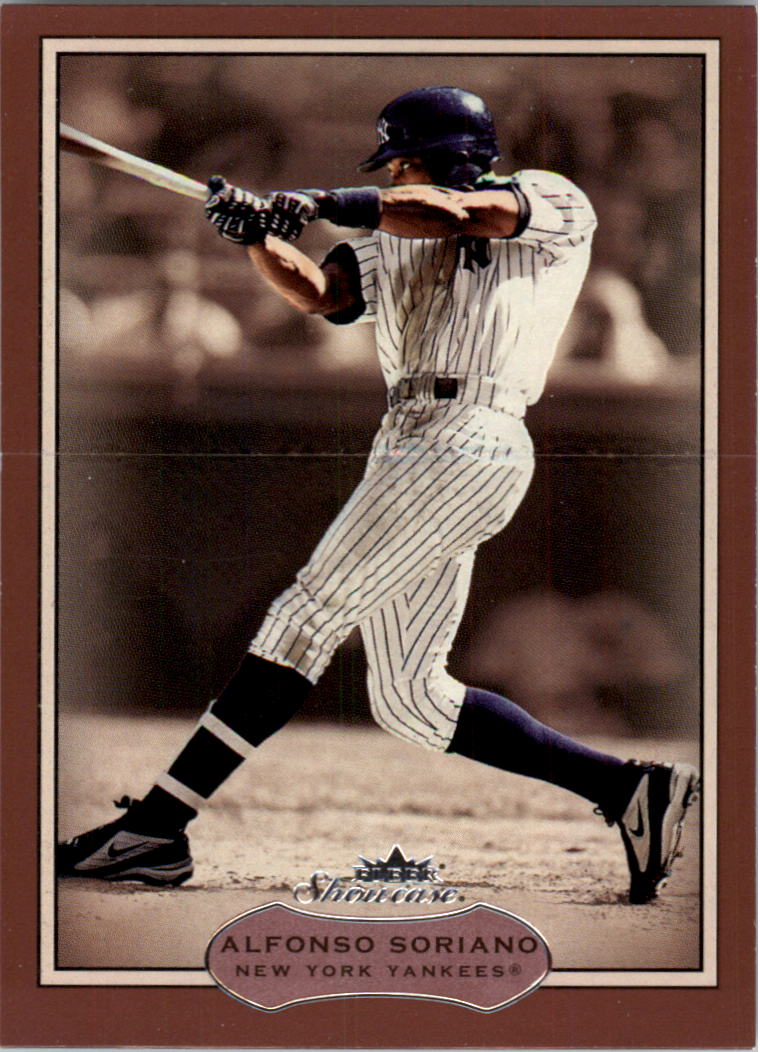 2003 Fleer Showcase #69 Alfonso Soriano