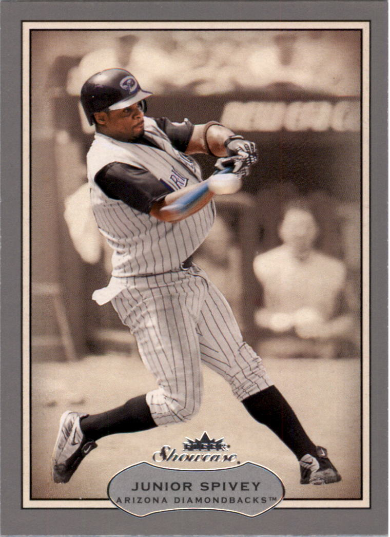 2003 Fleer Showcase #72 Junior Spivey
