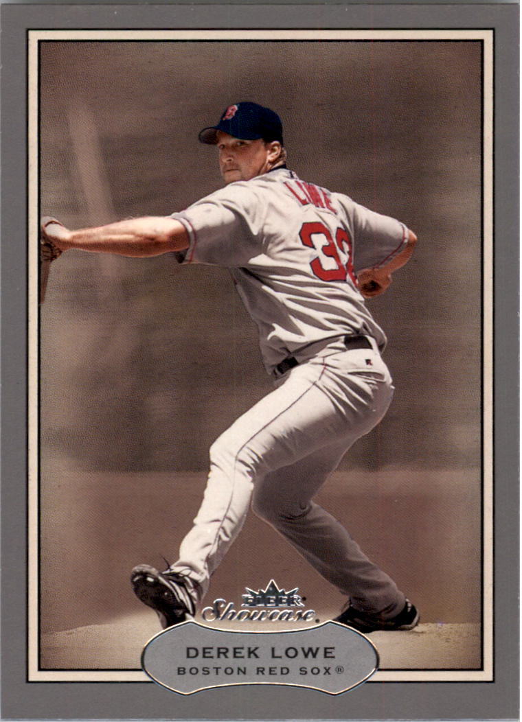 2003 Fleer Showcase #74 Derek Lowe