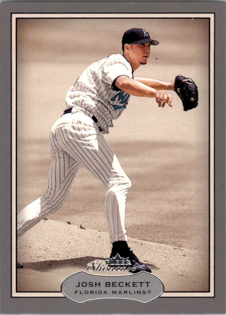 2003 Fleer Showcase #78 Josh Beckett