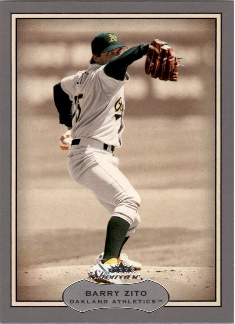 2003 Fleer Showcase #82 Barry Zito