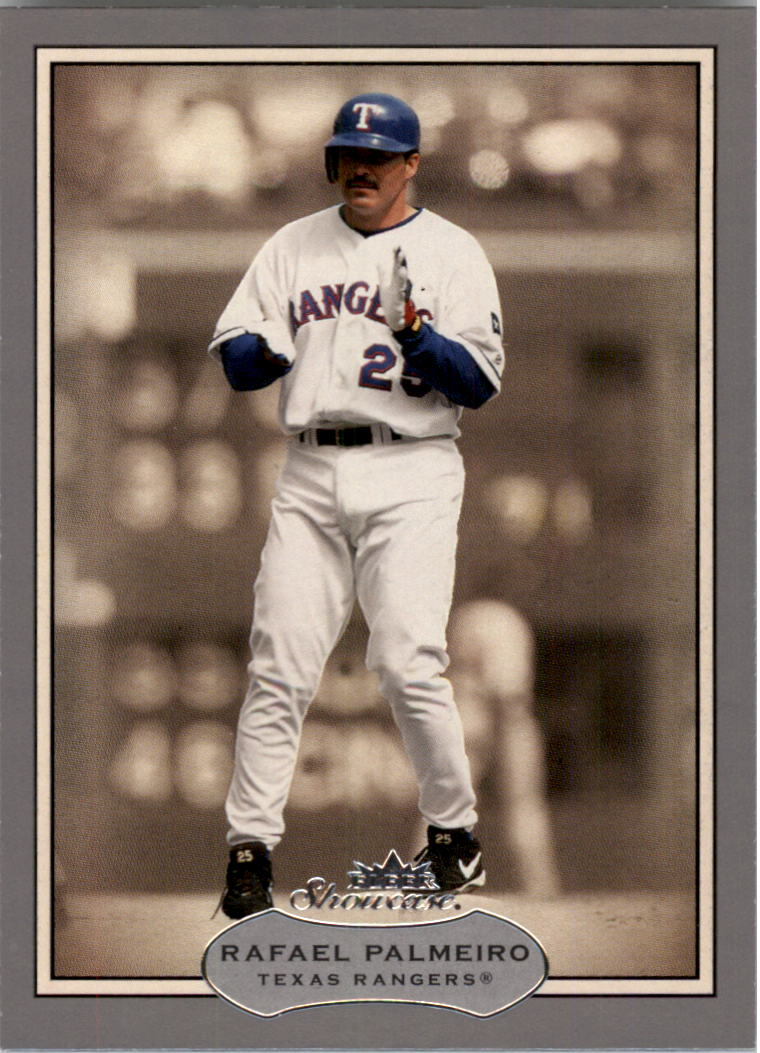 2003 Fleer Showcase #87 Rafael Palmeiro