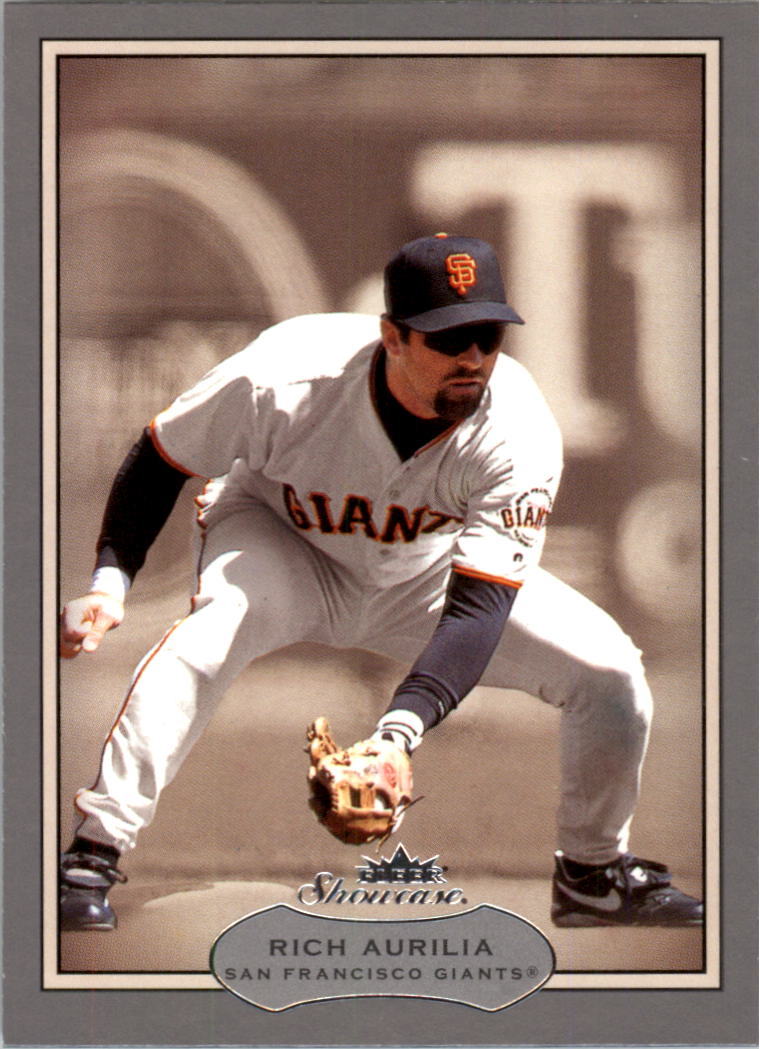 2003 Fleer Showcase #92 Rich Aurilia