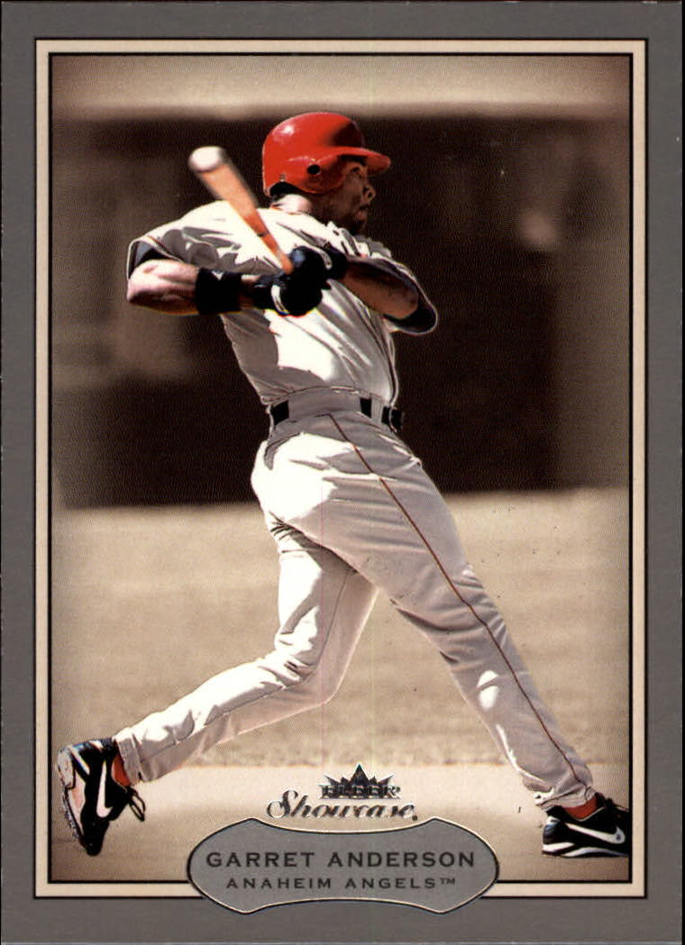 2003 Fleer Showcase #95 Garret Anderson