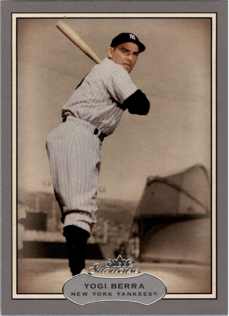 2003 Fleer Showcase #96 Yogi Berra front image