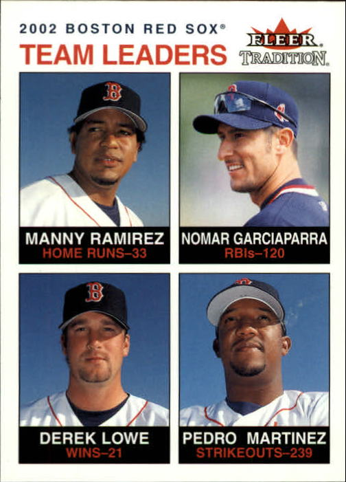 2003 Fleer Tradition #5 Ram/Nomar/Lowe/Pedro TL