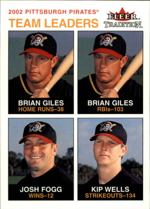 2003 Fleer Tradition #23 Giles/Fogg/Wells TL